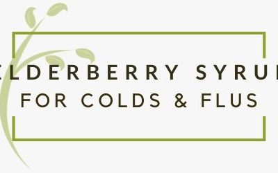 Elderberry Syrup: The Perfect Sore Throat Remedy