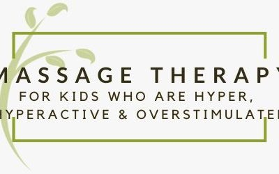 Massage Isn't Just For Adults, It's Also Helpful For Kids.