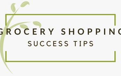 How to Grocery Shop for Success (even with school!)