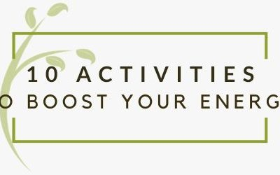 10 Activities That Can Boost Your Energy